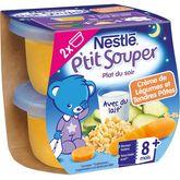 Nestlé Nestlé P'tit souper bol crème de légumes et pâtes dès 12 mois 2x200g