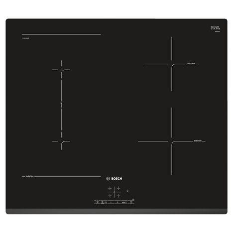 BOSCH Table de cuisson à induction PVS631BB5E, 60 cm, 4 Foyers