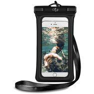 CLIP EYZ Pochette étanche Air Case pour smartphone  - Noir/transparent