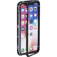 COLORBLOCK Coque pour iPhone X/XS - Transparent/Contour noir