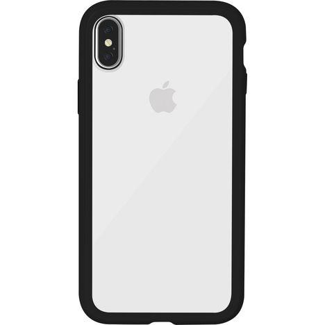 coque iphone xs transparente contour noir