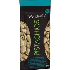 WONDERFUL Wonderful pistaches grillées non salées 250g 250g