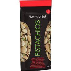"WONDERFUL Wonderful Pistaches au piment doux ""sweet chili"" 250g 250g"