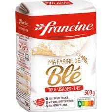 FRANCINE Farine de blé tous usages 500g