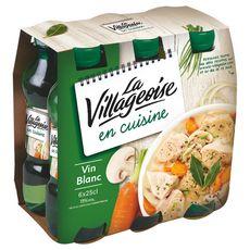 La Villageoise Vin spécial cuisine blanc 6x25cl