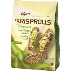 Krisprolls KRISPROLLS Petits pains suédois au blé complet sans sucres ajoutés