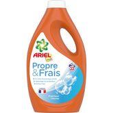 Ariel Ariel Propre & Frais lessive liquide fraîcheur intense 33 lavages 1,815l