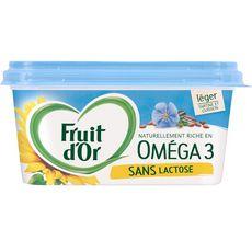 Fruit d'or margarine oméga 3 leger & sans lactose doux 510g