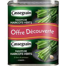 Cassegrain haricots verts en fagots 2x220g