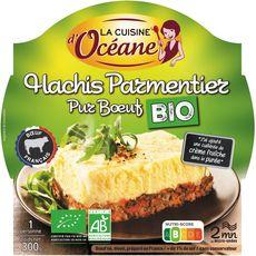 Cuisine D'Océane hachis parmentier pur boeuf bio 300g