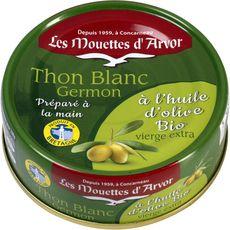 Les Mouettes d'Arvor Thon blanc germon à l'huile d'olive vierge bio 2x160g