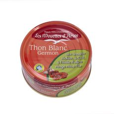 Les Mouettes d'Arvor Thon blanc germon, tomates séchées et ail bio 2X160g