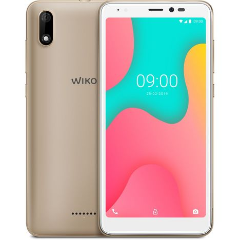WIKO Smartphone Y60 - 16 Go - Or - Gold - 5.45 pouces - 4G
