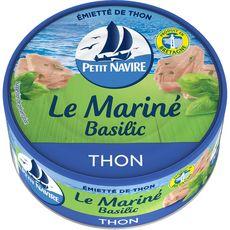 PETIT NAVIRE Thon Le mariné basilic 110g