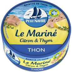 Petit Navire PETIT NAVIRE Thon Le mariné citron et thym