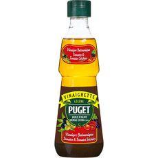 PUGET Vinaigrette légère huile d'olive vinaigre balsamique tomate tomates séchées 33cl