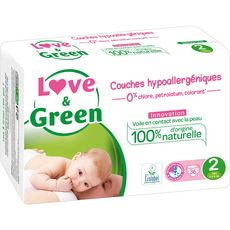 Love And Green couches midi 3/6kg x36 taille 2