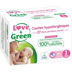 Love And Green couches midi 2/5kg x23 taille 1