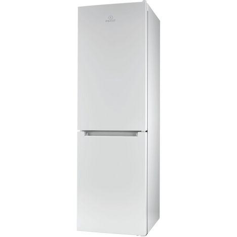 INDESIT Réfrigérateur combiné XI8T1EW, 320 L, Froid No Frost