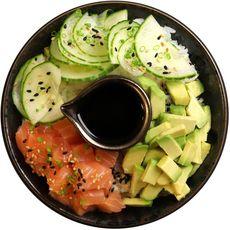 SUSHI GOURMET Poke bowl au saumon 330g