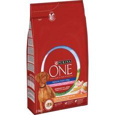 PURINA One croquettes à la dinde riz pour chien 2,5kg