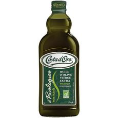 Costa D'Oro huile d'olive vierge extra non filtrée bio 75cl