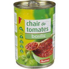 AUCHAN Chair de tomates au basilic 400g