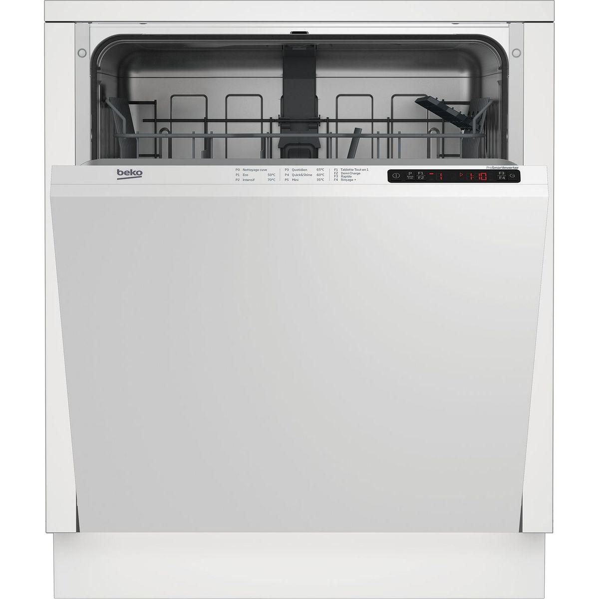 Lave-vaisselle encastrable LVI172F, 13 couverts, 60 cm, 46 dB, 5 Programmes