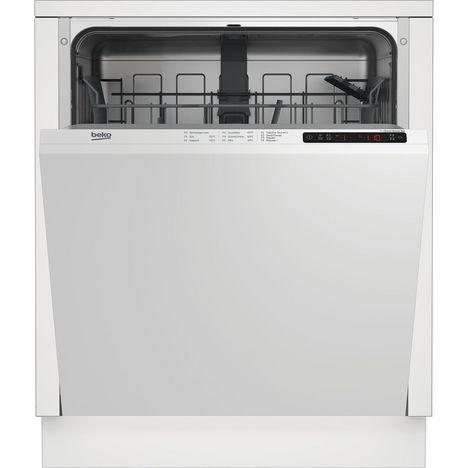 BEKO Lave-vaisselle encastrable LVI172F, 13 couverts, 60 cm, 46 dB, 5 Programmes