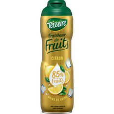Teisseire Sirop fraîcheur de fruits au citron bidon 60cl