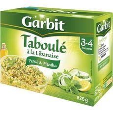 GARBIT Garbit Taboulé à la libanaise persil et menthe 525g 2-3 personnes 525g