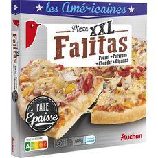 AUCHAN Pizza fajitas 600g
