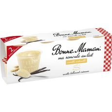 Bonne maman semoule vanille 8x100g