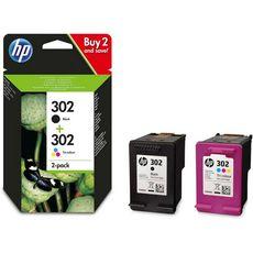 HP Cartouche d'encre N.302 Noir + Couleurs