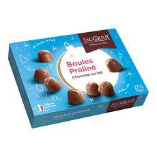 JACQUOT Bonbons de chocolat au lait fourrage au praliné 1kg