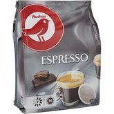 Go Tan Auchan café dosettes expresso x36 -306g