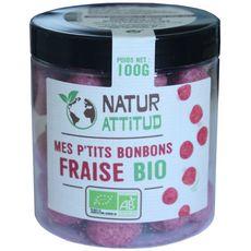 Natur'Attitud bonbon fraise aérée bio 100g