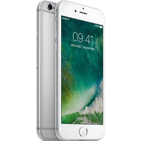APPLE Apple - iPhone 6S - Reconditionné Grade A - 16 Go - 4.7 pouces - Argent - EX SLP