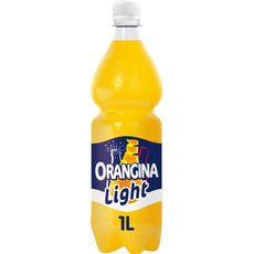 ORANGINA Boisson gazeuse light à la pulpe de fruit jaune 1l