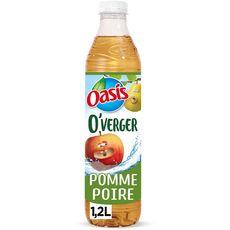 OASIS O'Verger eau fruitée saveur pomme poire 1,2l