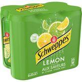 Schweppes Schweppes Boisson gazeuse saveur lemon citron citron vert boîtes 6x33cl
