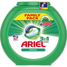 Ariel pods lessive original écodose x47 -1,49l