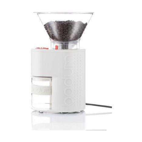 BODUM Broyeur à café électrique - 10903 - Blanc
