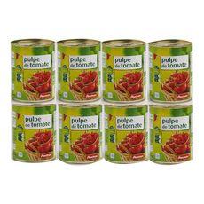 AUCHAN Auchan Pulpe de tomates 400g 400g