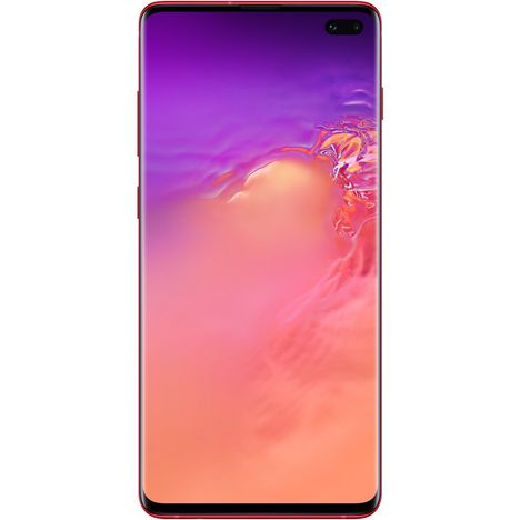 SAMSUNG Smartphone - Galaxy S10+ - 128 Go - 6.4 pouces - Rouge - 4G