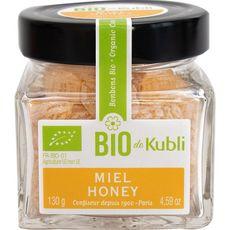 Kubli pastille miel bio pot carré 130g