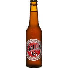 GALLIA Bière blonde India Pale Ale 6% bouteille 33cl