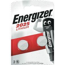 Energizer blister CR2025 piles lithium x2