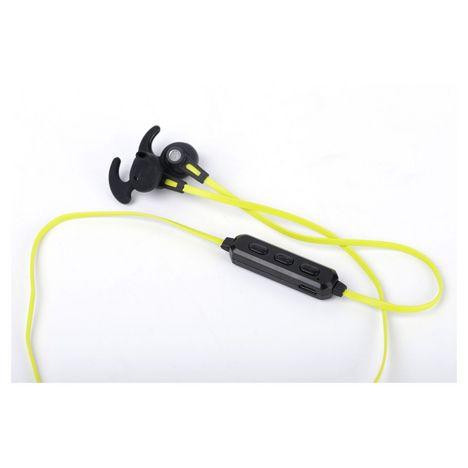 SELECLINE Écouteurs sans fil Bluetooth - noir/jaune - 139962