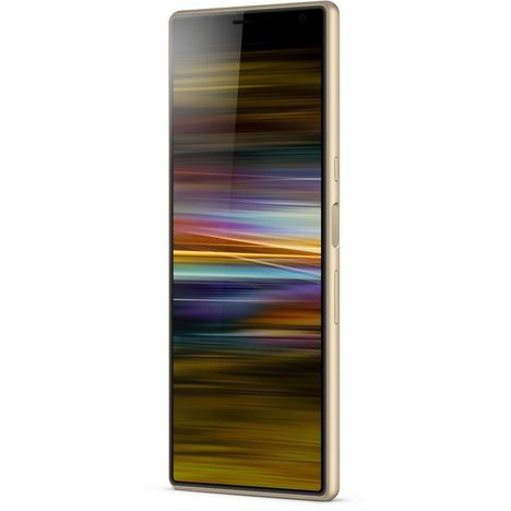SONY Smartphone - XPERIA 10+ 64 Go - 6.5 pouces - Or - Gold - 4G